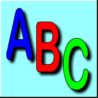 Learn the English alphabet